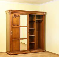 Спальня Камелия ЮрВит (комплект) шкаф