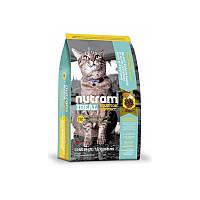 Сухой корм 1,8 кг для кошек склонных к ожирению Нутрам I12 / Ideal Solution Support Weight Control Cat NUTRAM