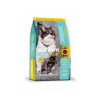 Сухой корм 6,8 кг для привередливых кошек живущих в помещении Нутрам I17 / Ideal Solution Support Indoor Cat NUTRAM