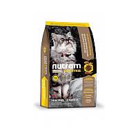 Сухой корм 320 гр для котят, взрослых и пожилых кошек Нутрам T22 / Total Grain-Free Turkey & Chiken Cat NUTRAM