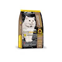 Сухой корм 6,8 кг для котят, взрослых и пожилых кошек Нутрам T24 / Total Grain-Free Salmon & Trout Cat NUTRAM