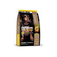 Сухой корм 2,72 кг для собак и щенков Нутрам T27 / Total Grain-Free Turkey, Chiken & Duck Small Breed Dog NUTRAM