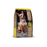 Сухой корм 2,72 кг для собак и щенков Нутрам T28 / Total Grain-Free Salmon & Trout Small Breed Dog NUTRAM