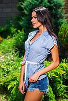 Летняя женская блуза. Два цвета. Натуральная ткань. , фото 1