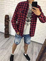 "Мужская рубашка "" Клетка "" Dress Code"