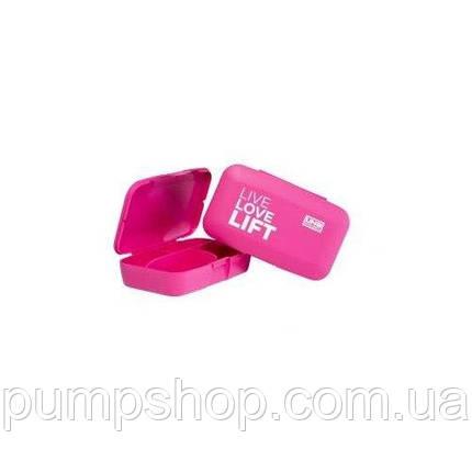UNS Pill-box Таблетница Live love lift розовая, фото 2