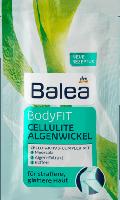 Balea морские водоросли салфетки для обертывания Algenwickel BodyFIT Cellulite, 100 ml