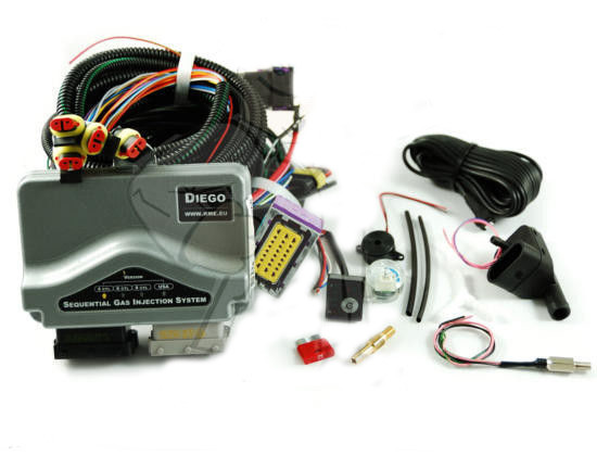 Электроника KME Diego G3 6 цилиндров