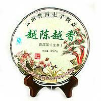Чай Пуэр Шен Чайный мастер Подкопченный 2009 года прессованный 357г