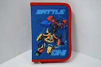 Пенал книжка Transformers 1 отворот