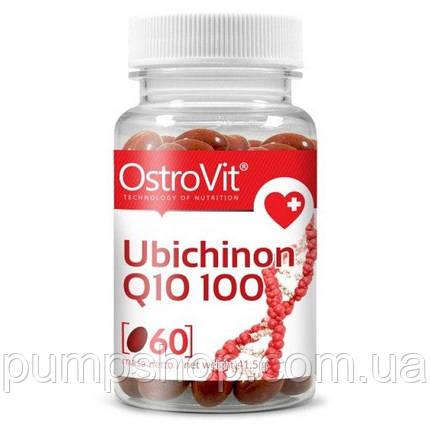 Коэнзим OstroVit Ubichinon Q10 100 60 капс., фото 2