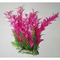 Искуственное аквариумное растение 15-20 см Lang № 034254