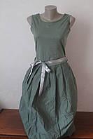 Платье коттон удлиненное