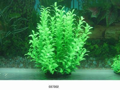 Пластиковое растение для аквариума 27-30 см  037302