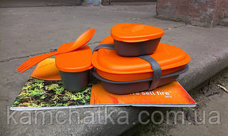 Обзор туристической посуды Light My Fire LunchKit
