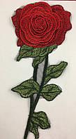 Пришивная роза