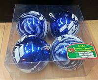Ёлочные шарики 02289, 6 шт. (Y)