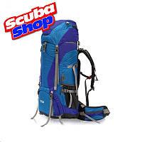 Рюкзак туристический каркасный TOFINE 65+10L, цвет синий
