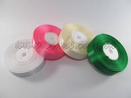 Лента тканевая, зеленый цвет, высота борта 2 см