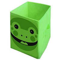 """Ящик для игрушек BOC078650 """"Жабка"""", 35х35х55 см (Y)"""