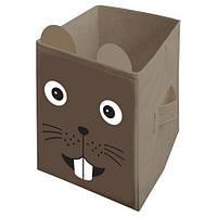 "Ящик для игрушек HTKB-3030-005 ""Мышка"", 30х30х45 см (Y)"