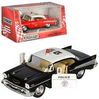 "Машинка KT 5325 W ""Kinsmart. 1957 Chevrolet Bel Air (Fire Chief)"", 12,5 см (Y)"