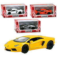 "Машинка KT 5355 W ""Kinsmart. Lamborghini Aventador LP 700-4"", 12,5 см (Y)"