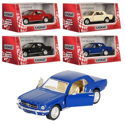 "Машинка KT 5351 W ""Kinsmart. 1964 1/2 Ford Mustang"", 12,5 см (Y)"