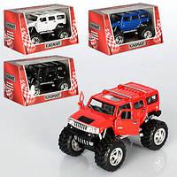"""Машинка KT 5337 WB """"Kinsmart. 2008 Hummer H2 SUV (Off Road)"""", 12 см (Y)"""