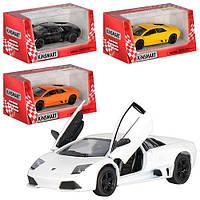"Машинка KT 5317 W ""Kinsmart. Lamborghini Murcielago LP640"", 12,5 см (Y)"