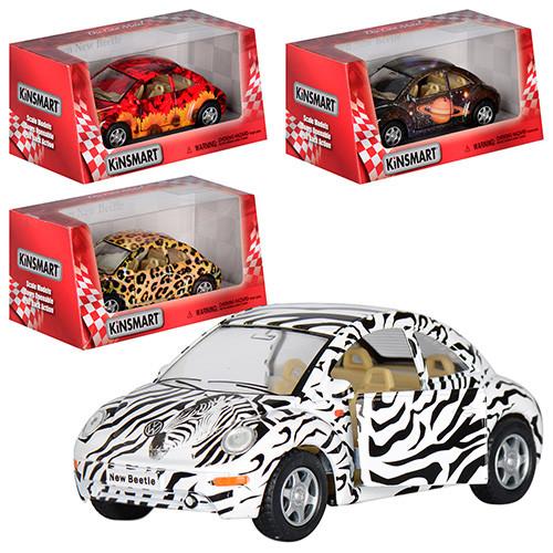 """Машинка Kinsmart KT 5062 W """"Volkswagen New Beetle"""", 12,5 см (Y)"""