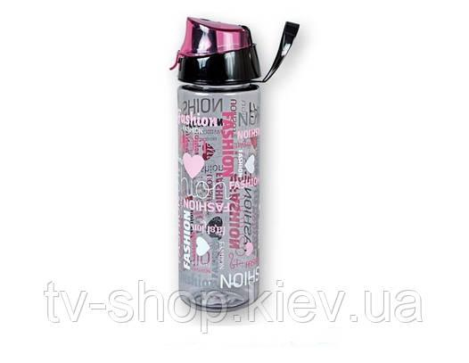Бутылка с поилкой «Fashion» ,750 мл