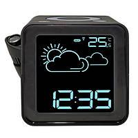Проекционные часы La Crosse WT485-BLA