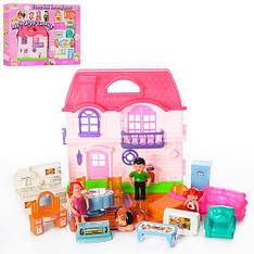 "Домик для куклы 8035 ""My happy family"" (Y)"