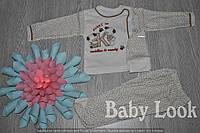 Комплект для новорожденного: шапочка, кофточка, ползунки