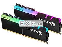 DDR-4 16GB KIT(2*8GB) PC4-25600 (PC4-3200) Trident Z RGB G.SKILL (F4-3200C16D-16GTZR)