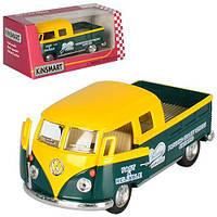 """Машинка KT5396W """"Kinsmart. 1963 Volkswagen Bus Double Cab Pickup"""", 12,5 см (Y)"""