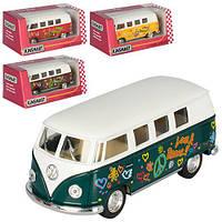 """Автобус KT 5060 WF """"Kinsmart. 1962 Volkswagen Classical Bus"""", 13 см (Y)"""