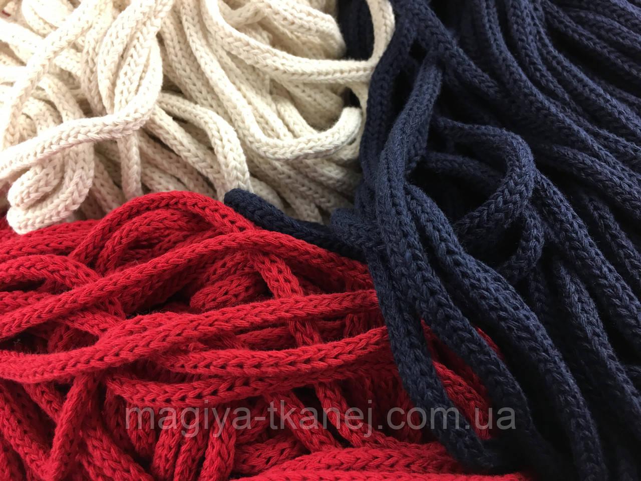 Шнур круглый 5 мм в разных цветах