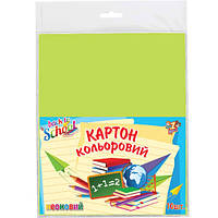 "Картон цветной 950258 ""Back to School"", А4, 10 листов (Y)"