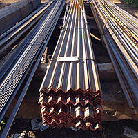 Уголок стальной горячекатаный 100х100х6/ х7/ х8мм, ст.3пс/сп, мера 6м/ 9м/ 12м.