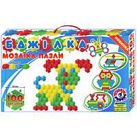 "Мозаика-пазлы 1035 ""Пчёлка"", 52х31х7,5 см (Y)"