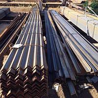 Уголок стальной горячекатаный 75х75х5, ст.3пс/сп, мера 6м/ 9м/ 12м.