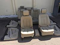 Кожаный салон Hyundai Santa Fe 7мест