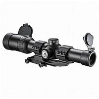Прицел оптический Barska AR6 Tactical 1-6x24 (IR Mil-Dot R/G)