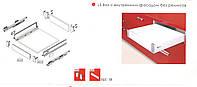 Комплектующие LS Box Perfect // Linken System / внутренний фасад / L =1100мм / H =91мм / серый