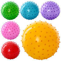 Мяч массажный MS 0022 (250шт.) 4 дюйма, ПВХ, 25г, 6 цветов