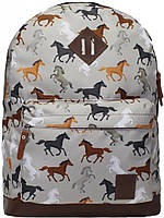 Городской рюкзак Bagland Молодежный 005336640 лошади