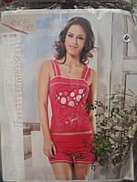 Пижама женская с шортами.