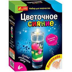 "Набор для творчества 3068-01 ""Гелевая свеча. Цветочное сияние"" 14100295Р (Y)"